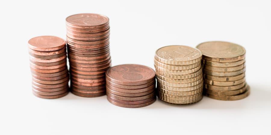 monedas dinero ahorro
