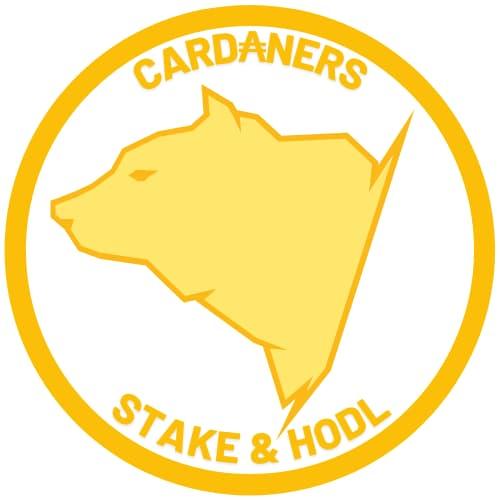 logo cardaners moneda blanca oso amarillo